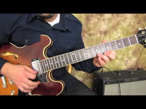 Blues And Rock  Lead Guitar Lessons - Blues Scale For Funk And Jazz Fusion
