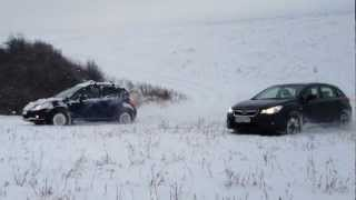 Suzuki SX4; Subaru XV fun and snow III.
