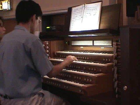 Fantasia  Dance of the Hours (Amilcare Ponchielli) - John Hong Organ