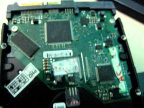 Trocando Placa Lógica de HD - recuperando dados (Changing the Logic Board in HD - retrieving data)