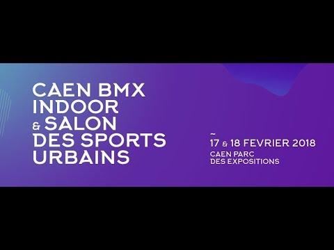 Caen BMX indoor LIVE 2018 - Dimanche