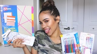 Back To School Supplies Haul! | Maria Bethany