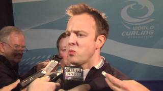 2011 Ford World Men's Curling Championship - Semi-Final Media Scrum