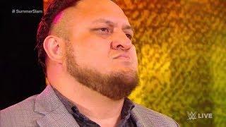 SIN SENTIDO Samoa Joe rumbo a SummerSlam con AJ Styles