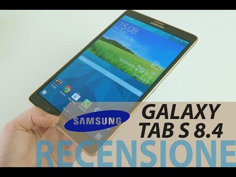 Samsung Galaxy Tab S 8.4. recensione in italiano