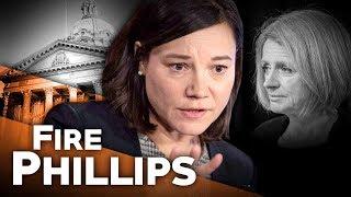 Fire Alberta Environment Minister Shannon Phillips | Sheila Gunn Reid