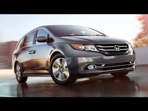 2014 Honda Odyssey EX Start Up and Review 3.5 L V6