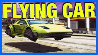 FLYING CAR!! - Burnout Paradise Remaster (Xbox One X)