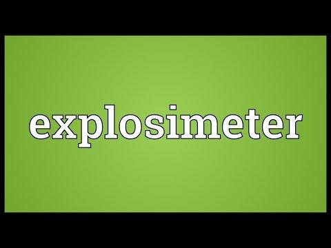 Header of explosimeter