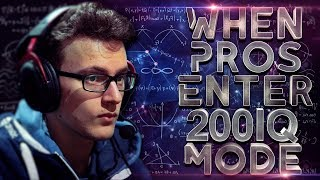 DOTA 2 - WHEN PROS ENTER 200 IQ MODE! (Smartest Plays & Next Level Moves By Pros)