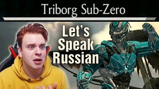 Sub-Zero Triborg Challenge. I Speak Russian (With English Subtitles). MKX Mobile