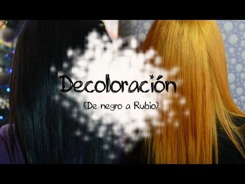 Como hacer una decoloración (De cabello oscuro a rubio)