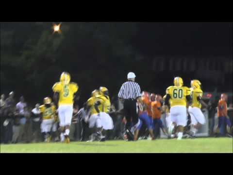 Bunn @ Louisburg  Football Sept  19, 2014