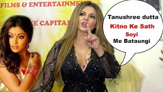 Full Video Rakhi sawant Talk Truth Behind Tanushree dutta and nana patekar