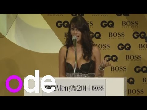 Kim Kardashian gets annoyed when GQ Awards drops 'West' from her name