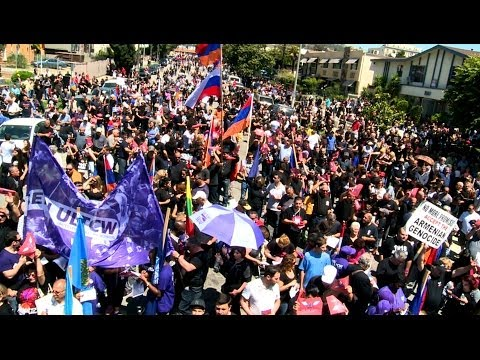 Los Angeles April 24 Armenian Genocide