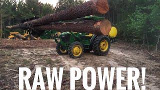 download lagu John Deere 5075e Picking Up 2 40' Trees  gratis
