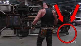WWE Secrets EXPOSED! How Braun Strowman LIFTED an Ambulance/Truck on Raw!