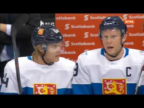 Хоккей  Кубок Мира 2016  Финляндия Россия  22 09 2016