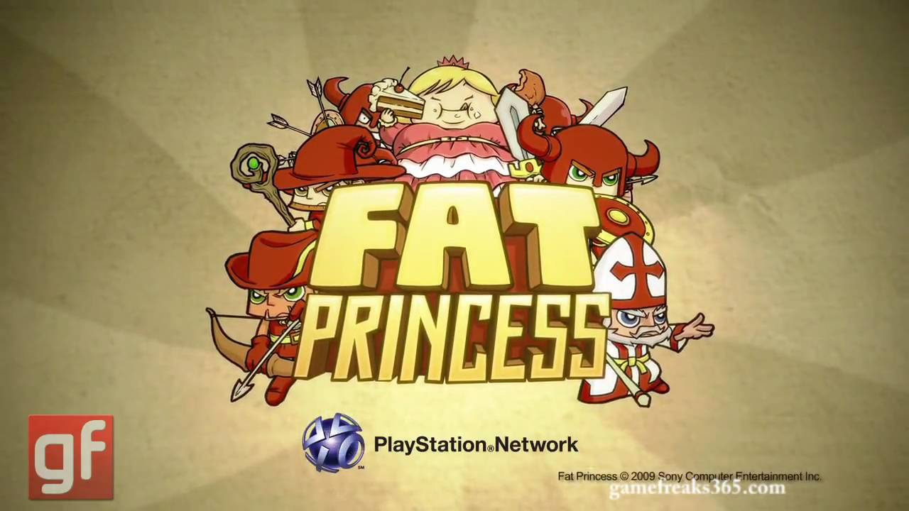 Ps3 Fat Fat Princess Ps3 Gameplay