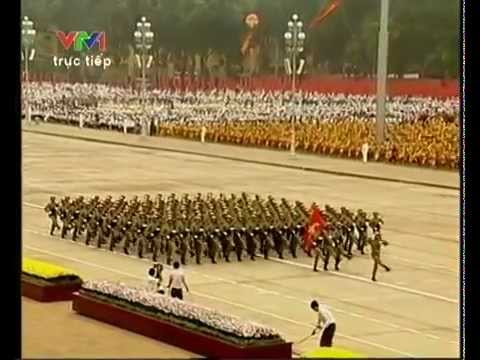 Vietnam Military parade 2010 in Hanoi