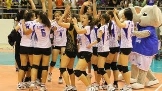 Thailand VS Vietnam AVC Volleyball 2013 Pool E Full Match