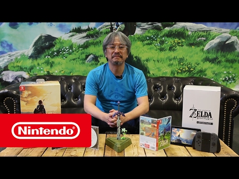 The Legend of Zelda: Breath of the Wild - Limited edition - Unboxing door Eiji Aonuma