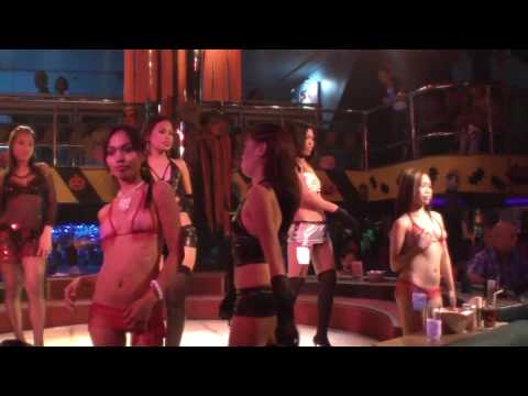 Filipina Girls of Dollhouse Part 1 (Fields Ave Angeles City Philippines) Video