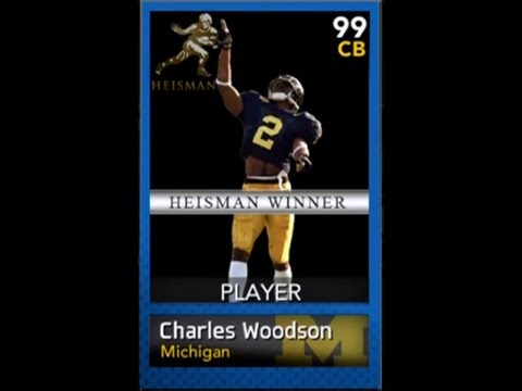 NCAA Football 14 Ultimate Team - Episode 43 - CHARLES WOODSON REVIEW