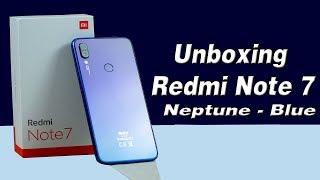 Unboxing Do Redmi Note 7: Neptune - Blue o Queridinho Dos Brasileiros