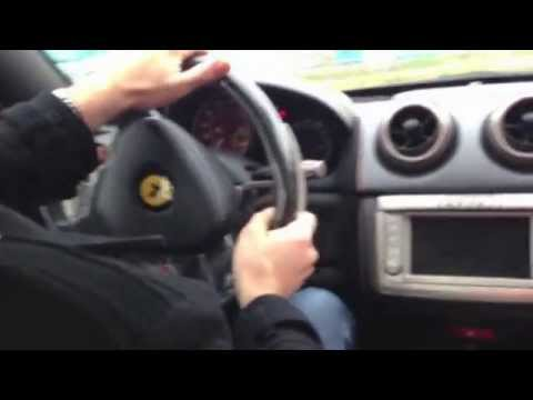 Тест-драйв Ferrari California в Маранелло, Италия