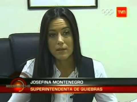 Proyecto ayudara a deudores, Superintendencia de Quiebras, TVN