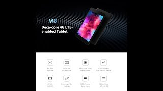 ALLDOCUBE M8 T801 Unboxing Video Review