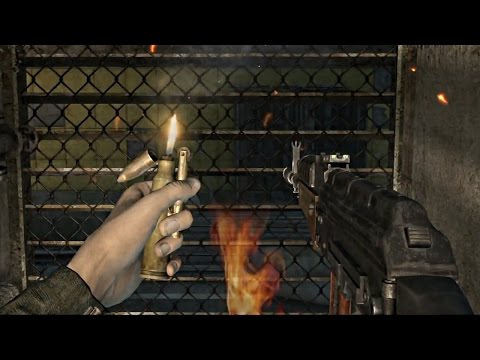 Throwing Knives, Stealth Takedowns & Silencer Kills In Metro 2033 Redux