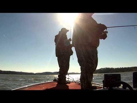Chickamauga Lake Crappie Fishing 1-04-2014