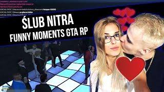 GTA RP   ŚLUB NITRA [ IMPREZA NA LOTNISKOWCU   ROMANEK]   Funny Moments