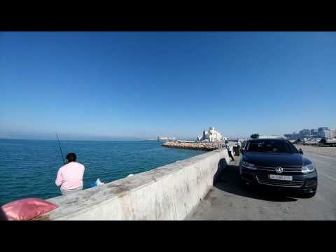Dude fishing @ Corniche/MIA