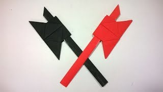 download musica Como hacer un HACHA de papel - how to make a paper ax