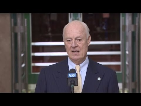 LIVE: April round of Intra-Syria talks continues in Geneva - Press statement by De Mistura