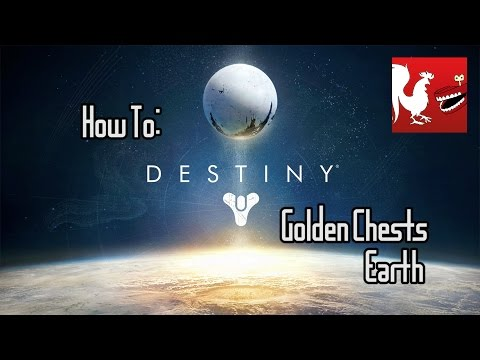 How To: Destiny Earths Golden Chests