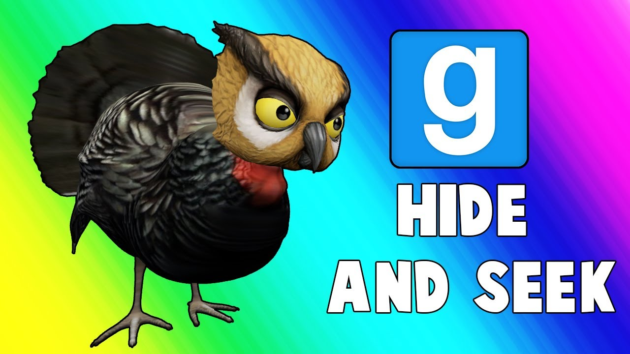 Gmod Hide and Seek Funny Moments - Turkey Troubles! (Garry's Mod)