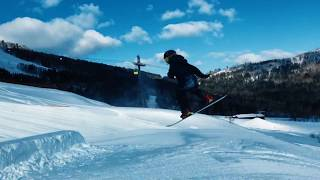 RICCA hair&snowboard at Tomamu2018
