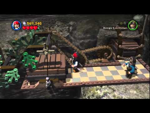 Lego Pirates of the Caribbean,On Stranger Tides Stage 5 The Fountain of Youth and Ending