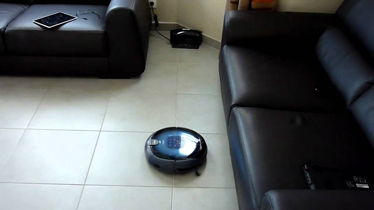 mon robot aspirateur samsung navibot sr8855 en action. Black Bedroom Furniture Sets. Home Design Ideas