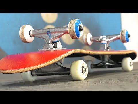 DOUBLE-SIDED SKATEBOARD?!