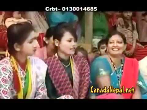 Nepali lok bhajan(part 2) prajapati parajuliDevi Gharti  posted...