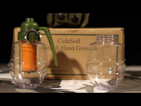 Cidasoft Airsoft Grenade reviewed by Alleyway Airsoft
