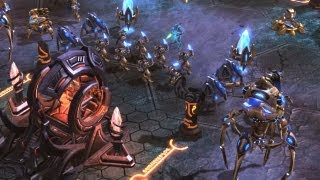 In Utter Darkness: Zeratul Witness the Protoss Final Stand against Amon and Hybrids (Starcraft 2)