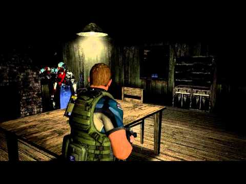 Resident Evil 4 - Chris & Piers in the Cabin!