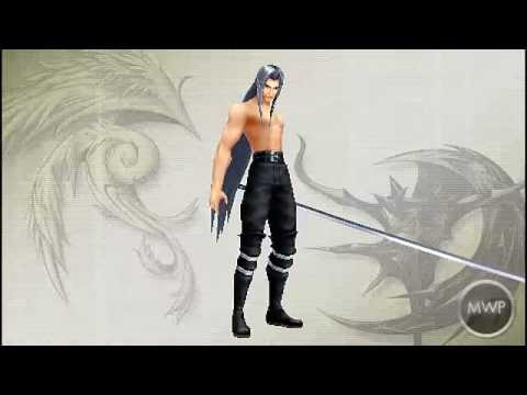Dissidia Final Fantasy -PSP- All Character Costumes